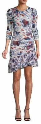 Diane von Furstenberg Floral Printed Dress