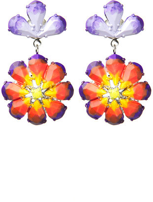 Tom Binns Pinata Flower Earring