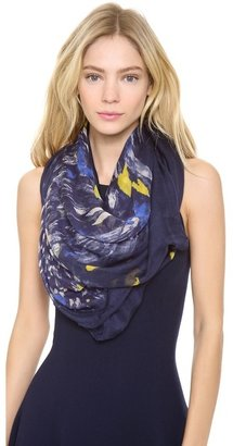 Yigal Azrouel Feather Print Scarf