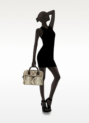 Marc Jacobs Small Antonia Python Leather Satchel Bag