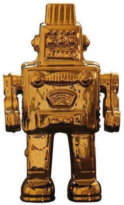 Seletti Robot Gold-Toned