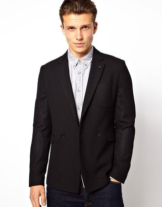 Peter Werth 2 Button Double Breasted Notch Jacket