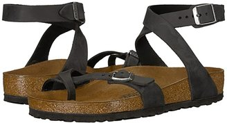 Birkenstock Yara (Habana Oiled Leather) Women's Sandals