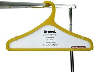 Closet candy 10-pk. hangers