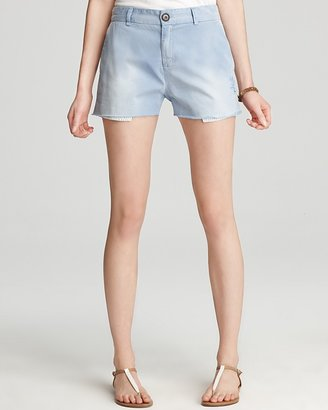 Current/Elliott Shorts - The Smart Denim Short in Country Blue Wash