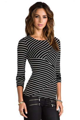 Bailey 44 The Thirteenth Window Striped Top
