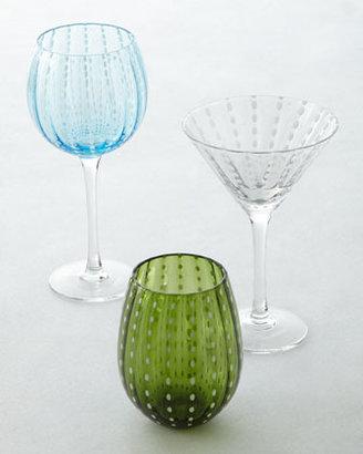 Neiman Marcus Four Cambria Stemless Glasses