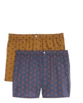 Marc by Marc Jacobs 2 Pack Dalston Dots Boxers