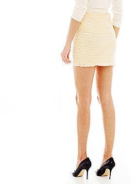 Joe Fresh Fringe Sequin Skirt