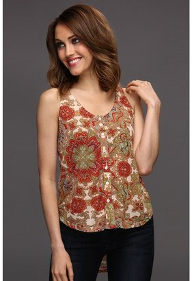 MinkPink Bohemian Like You Racerback Tank (Multi) - Apparel