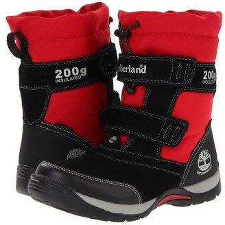 Timberland Kids - Mallard Snow Squall Waterproof Snow Boot (Youth) (Black/Red) - Footwear