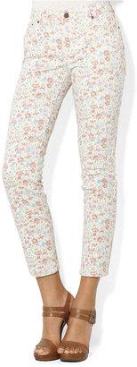 Lauren Ralph Lauren Petite Jeans, Skinny Floral-Print
