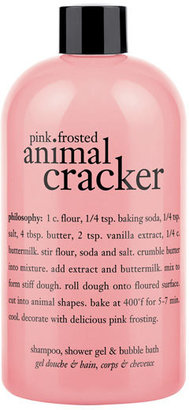 Philosophy 'pink Frosted Animal Cracker' Shampoo, Shower Gel & Bubble Bath $18 thestylecure.com