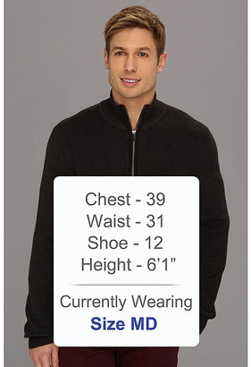 Calvin Klein Jeans Printed Full-Zip Sweater