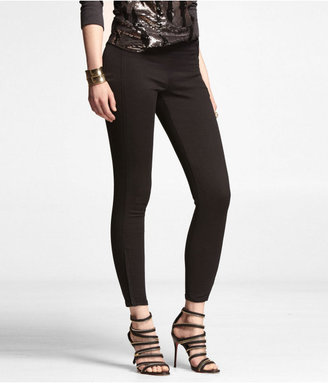 Express Stella Cropped Ankle Zip Jean Legging