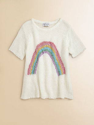 Wildfox Couture Kids Girl's Little Rainbow Sweater