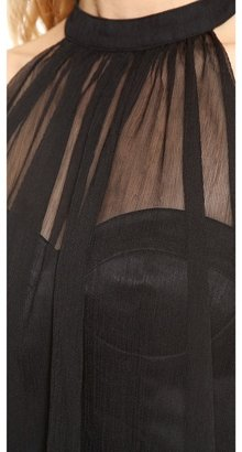 Blaque Label Sleeveless Halter Dress