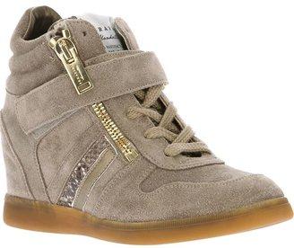 Serafini zipped wedge inside sneaker