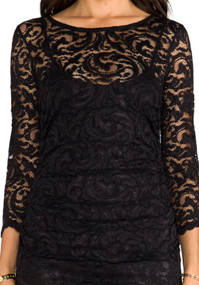 Velvet by Graham & Spencer Remly Stretch Lace Top