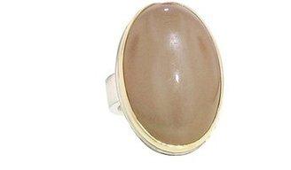 Jamie Joseph Oval Peach Moonstone Ring