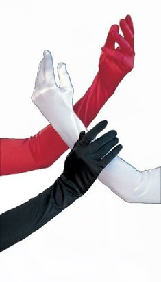 Shirley of Hollywood Adult Long Satin Gloves