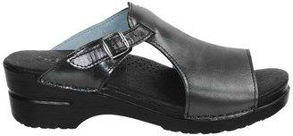 Sanita Dicte Metallic Slide Sandals (For Women)