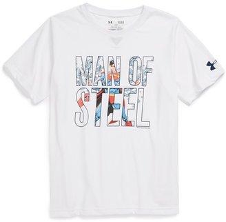 Under Armour 'Man of Steel - Alter Ego' T-Shirt (Big Boys)