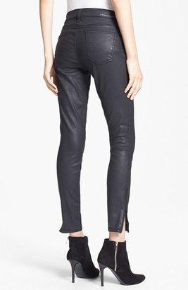 Current/Elliott 'The Soho' Coated Skinny Jeans