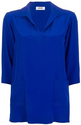 Moschino collared tunic top