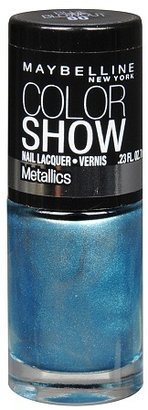 Maybelline Color Show Metallics Nail Lacquer Blue Blowout