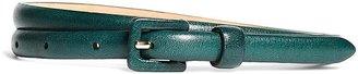 Calfskin Skinny Belt $48 thestylecure.com