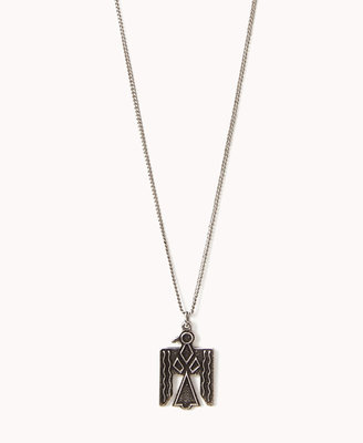 Forever 21 Tribal-Inspired Bird Necklace