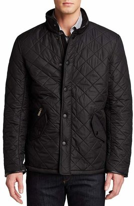 Barbour Powell Polarquilted Jacket $299 thestylecure.com