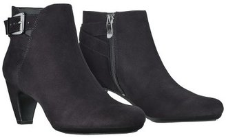 Sam & Libby Women's Marley Top Buckle Ankle Boot - Black