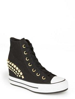 Converse Chuck Taylor® High Top Wedge Sneaker (Women)