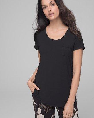 Soma Intimates Short Sleeve Pajama Tee with Pocket