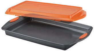 Rachael Ray Yum-O Nonstick Covered Cookie Pan with Lid