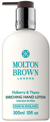 Molton Brown Enriching Hand Lotion, Mulberry and Thyme 10 oz (296 ml)