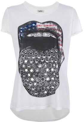 Lauren Moshi tongue print t-shirt