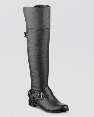 GUESS Over The Knee Tall Riding Boots - Igal