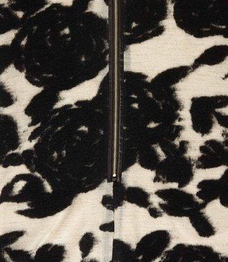 Reiss Lavine FLOWER BODYCON DRESS
