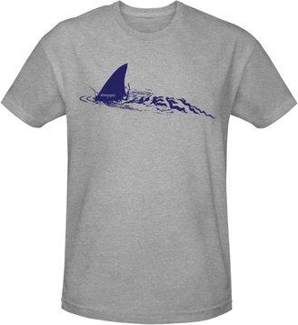Shark Week Shark Fin T-shirt- Heather Grey