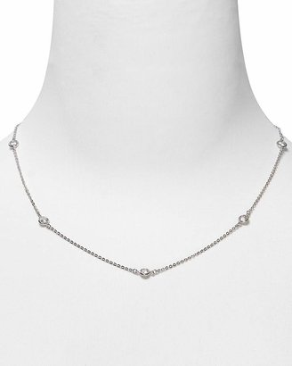 Crislu Station Chain Necklace, 16""