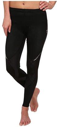 CW-X Stabilyxtm Tight (Black) Women's Workout