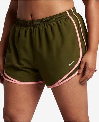 Nike Plus Size Tempo Dri-fit Track Shorts $30 thestylecure.com
