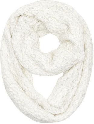 Dorothy Perkins White tassel edge snood