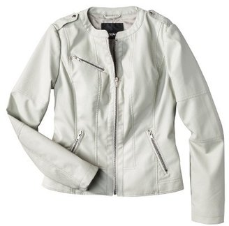 Mossimo Women's Faux Leather Jacket -Assorted Colors