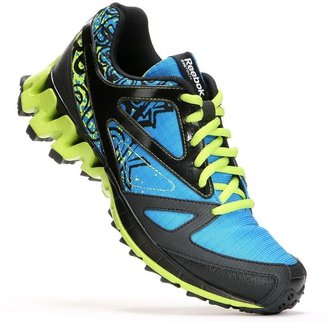 Reebok zig kick trail 1.0 trail running shoes - boys