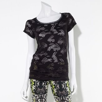 Vera Wang Princess burnout rabbit tee - juniors