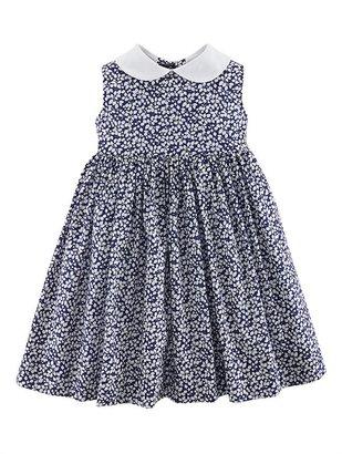 Oscar de la Renta Floral Pinafore Dress